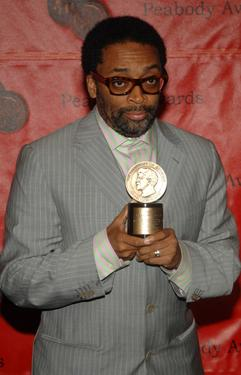 Spike Lee at the Waldorf-Astoria for the 66th Annual Peabody Awards.